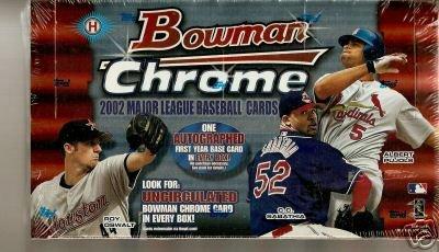 2002 Bowman Chrome Baseball HOBBY Box - ()