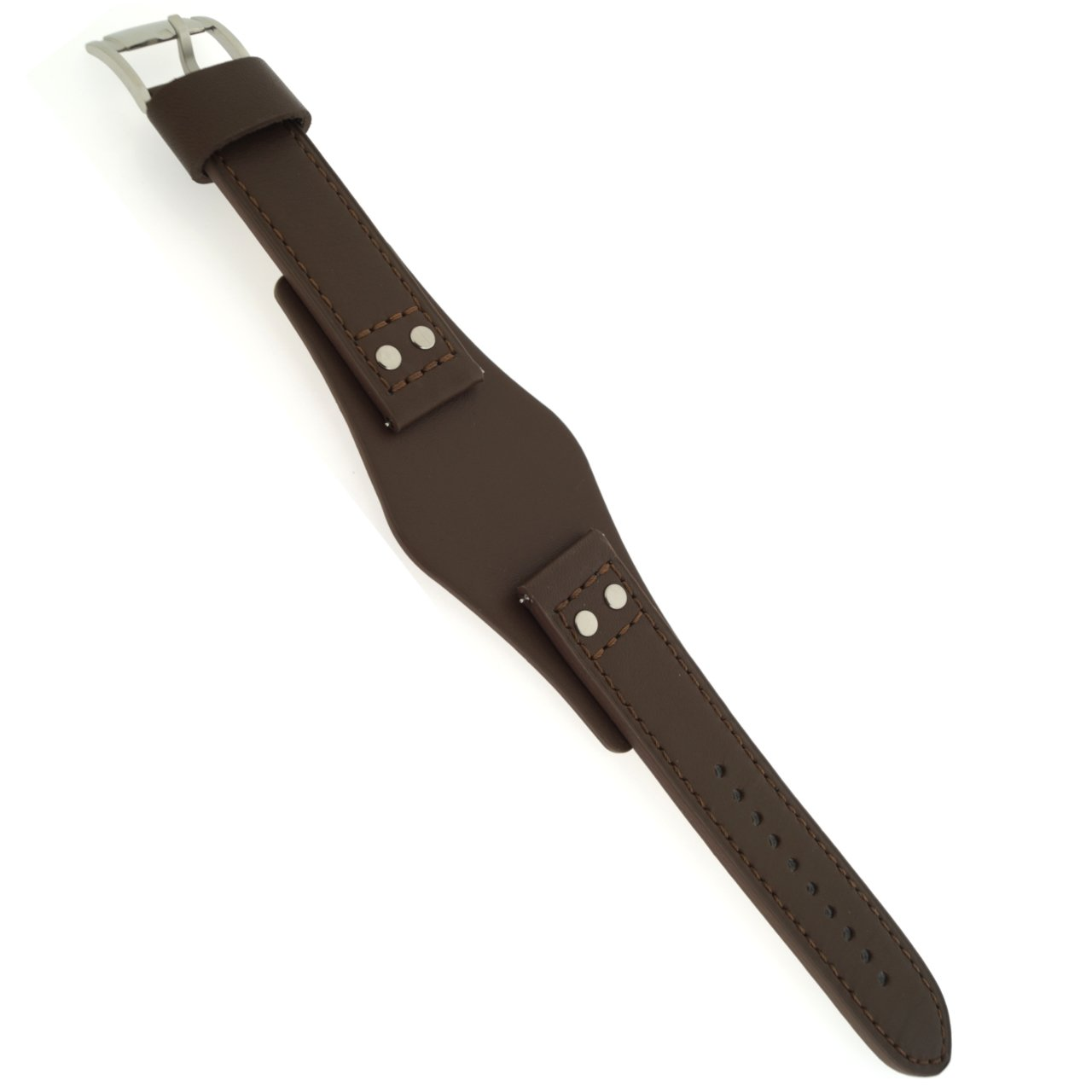 0838d3e316353 Fossil Watch Strap Quick Release L CH2891 Original Replacement Band CH 2891  22 mm Brown Leather Watch Strap: Amazon.co.uk: Watches