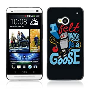YOYOSHOP [Funny Robot Message] HTC One M7 Case