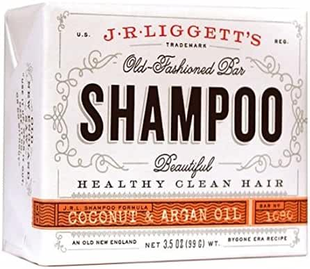 J.R. Liggett Bar Shampoo, Virgin Coconut Aragan Oil, 3.5 Ounce