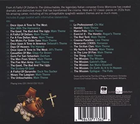 Soundtracks : Morricone, Ennio: Amazon.es: Música