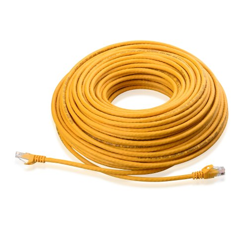 Cable Matters® Cat6 Snagless Ethernet Patch Cable in Yellow 125 Feet