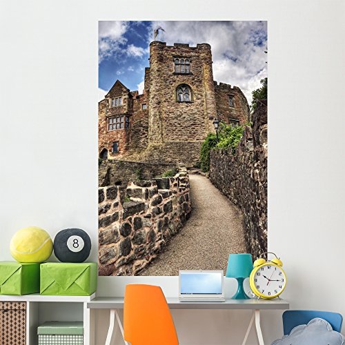 (Wallmonkeys Tamworth Castle Wall Mural Peel and Stick Graphic (72 in H x 48 in W) WM46524)
