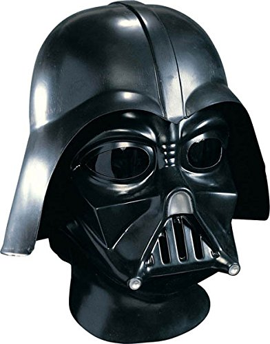 Price comparison product image Star Wars Darth Vader Deluxe Adult Full Face Mask, Black, One Size