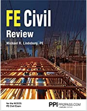 PPI FE Civil Review – A Comprehensive FE Civil Review Manual