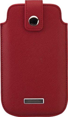 Commander 13542 Luxury Case für Apple iPhone 3G/3GS/4/4S/5/5S/5C Größe M rot