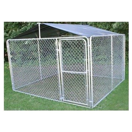 Stephens Pipe & Steel Dkr10100 Solid Kennel Roof Kit, 10' x 10, Just Shade Cover by Stephens Pipe & Steel