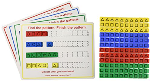 Didax Educational Resources Unifix Attribute Pattern Kit