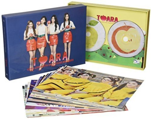 CD : T-Ara - Little Apple (With DVD, Asia - Import, 2PC)
