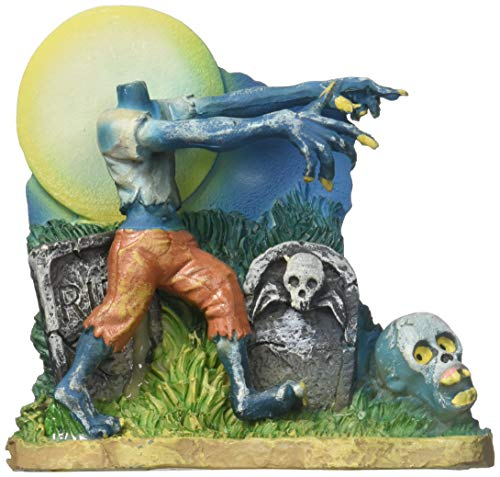 Penn Plax Zombie Headless Ornament (Aquarium Decor Zombie)