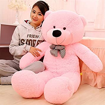 100CM Giant Big Size Teddy Bear Kawaii Plush Toys Peluche Stuffed Animal Juguetes Girls Toy Lowest