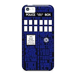 Durable Doctor Who Card Back Case/cover For iphone 5c iphone 5c