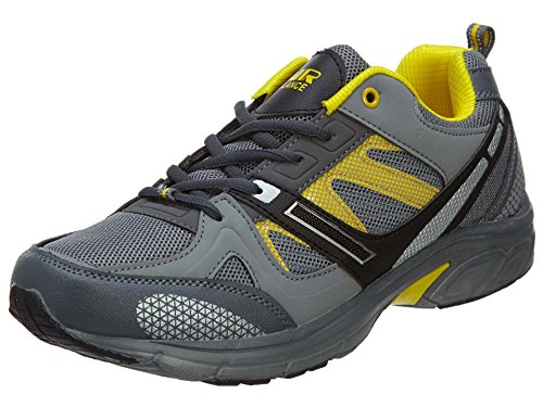 Air Balance Running Sneakers Men Style: AB2125GRYYEL-M813-GRY/YEL Size: 12