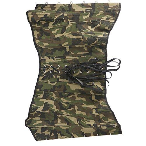 Czj-Innovation Ropa de camuflaje Entrenador de la cintura del corsépara Mujeres