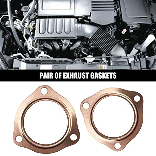 Per Newly Exhaust Gaskets 2 1/2'' Copper Header Exhaust Collector Gaskets Reusable SBC BBC 302 350 454 by Per Newly (Image #7)