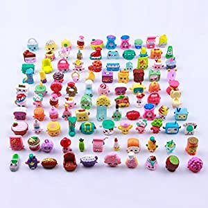 Lanlan 20pcs Children Mini Fruits Doll Toys Pen Cap Garden Landscaping Ornament Play House Game Christmas Gift