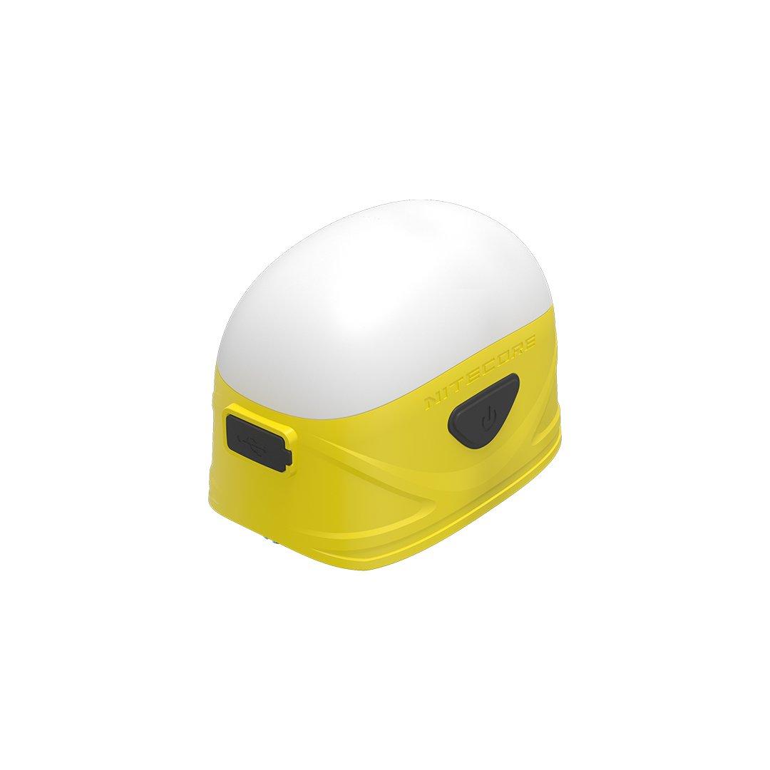 Nitecore LA30 250 lm White & Red Bi-Fuel Rechargeable Mini Lantern, Yellow