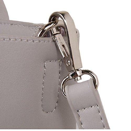Designer Handbag Cuckoo Designer Silver 345 London Red Red HqwOaxdBO