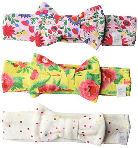 Rosie Pope Baby Girls' 3 Pack Headbands,Floral,One Size