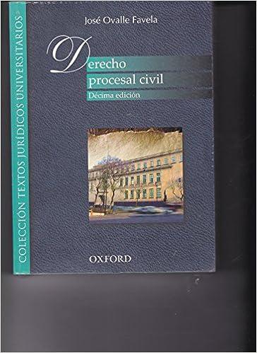 derecho procesal civil jose ovalle favela pdf descargar gratis