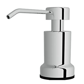 kitchen sink dispensers amazoncom built in foaming soap dispenser stainless steel