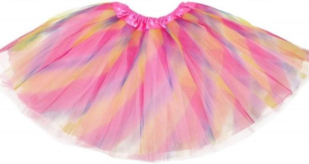 Girls Ballet Tutu Pastel Rainbow
