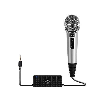 Sungpunet Mini micrófono portátil Instrumento portátil para ...