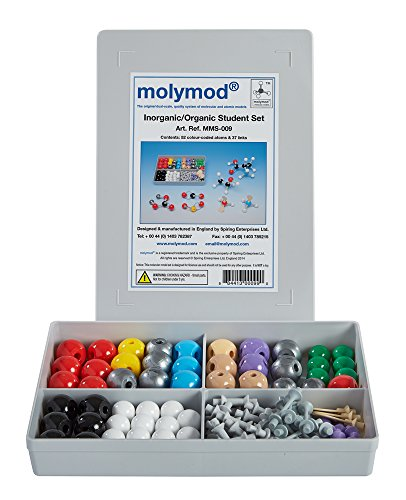molymod molecular modeling set by indigo to accompany organic chemistry