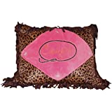 Carstens Cowgirl Leopard Throw Pillow