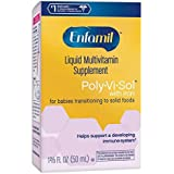 Enfamil Poly-Vi-Sol Multivitamin Supplement Drops with Iron 50 mL (Packs of 2)