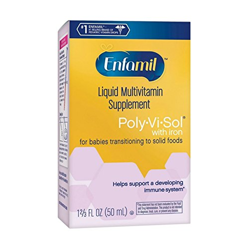 Enfamil Poly-Vi-Sol Multivitamin Supplement Drops with Iron 50 mL