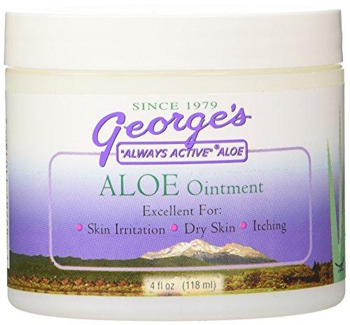 (George's Aloe Vera Ointment, 4 Ounce )