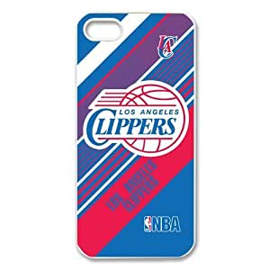 Custom Los Angeles Clippers New Back Cover Case for iPhone 5 5S CP1245