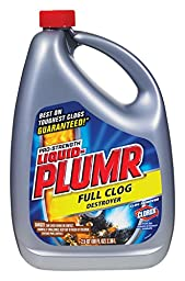 Liquid PLUMR Gel Clog Remover, Professional Strength, 2.5 qts