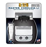Andis Master Cordless Li Replacement Fade Blade, Carbon Steel Size 00000-000, 1 count