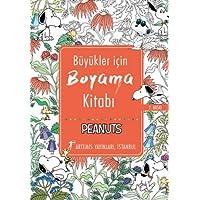 Büyükler İçin Boyama Kitabı: Peanuts