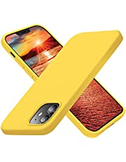 Cordking Designed for iPhone 12 Case, Designed for iPhone 12 Pro Case, Silicone Shockproof Phone Case with [Soft Anti-Scratch Microfiber Lining] 6.1 inch