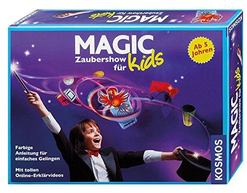 Kosmos 698829, spettacolo di magia per bambini (versione lingua tedesca) Kinder- und Jugendbücher / Spielen Lernen Spiele für Drinnen Kinderbücher / Kinderbeschäftigung / Spielgesch.