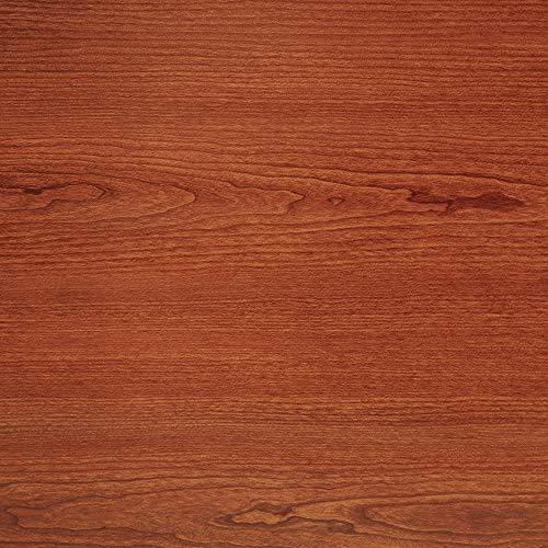Con-Tact Brand Creative Covering, 09F-C9813-12,  Adhesive Vinyl Shelf Liner and Drawer Liner, Cherry Woodgrain, 18