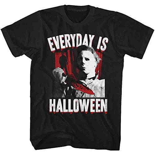 American Classics Halloween Men's Everyday T-Shirt X-Large Black