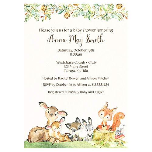 custom baby shower invitations - 5