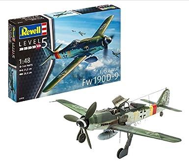 Amazon.com: Revell de Alemania Focke Wulf Fw 190 D-9 Hobby ...