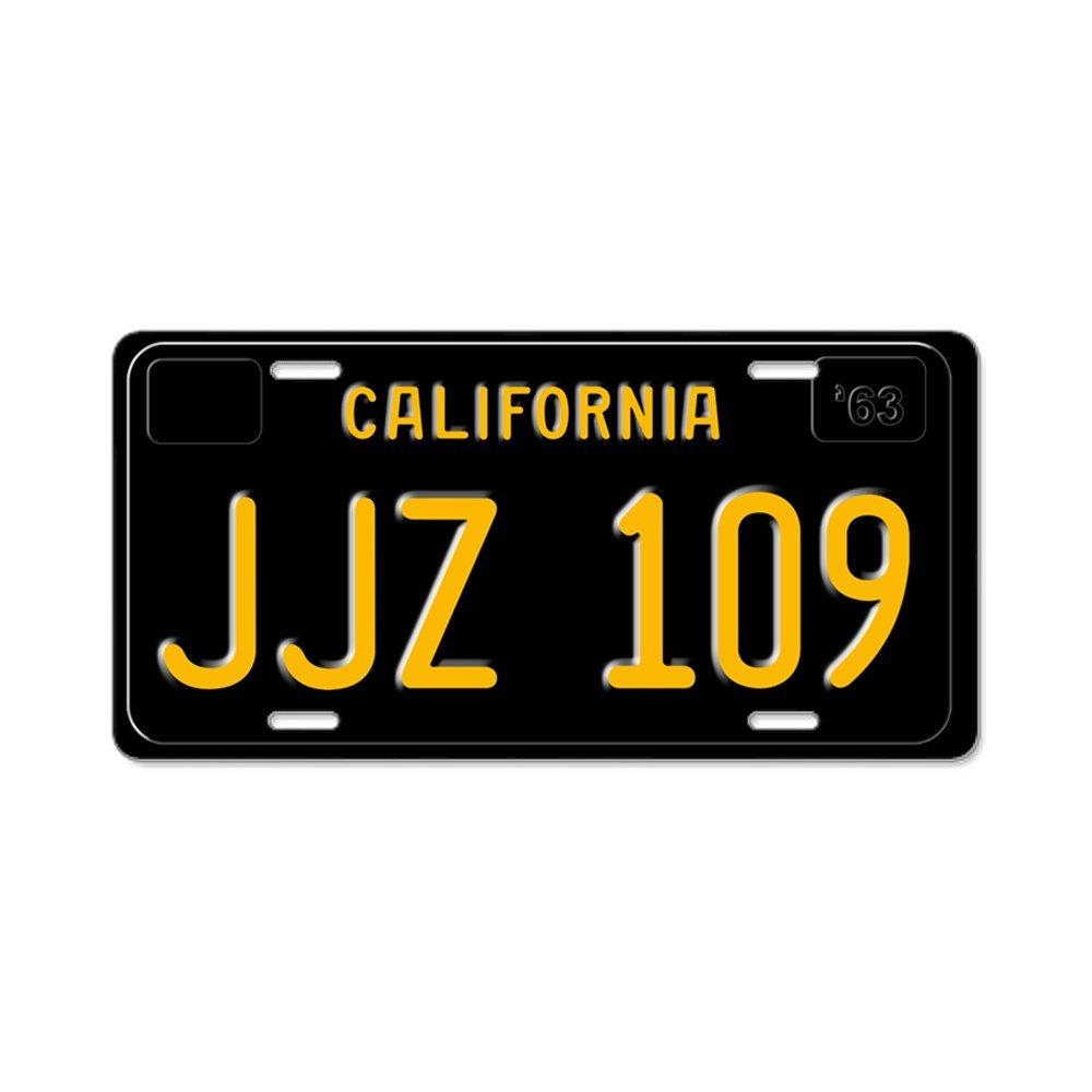 CafePress - JJZ 109 - Bullitt - Aluminum License Plate, Front License Plate, Vanity Tag