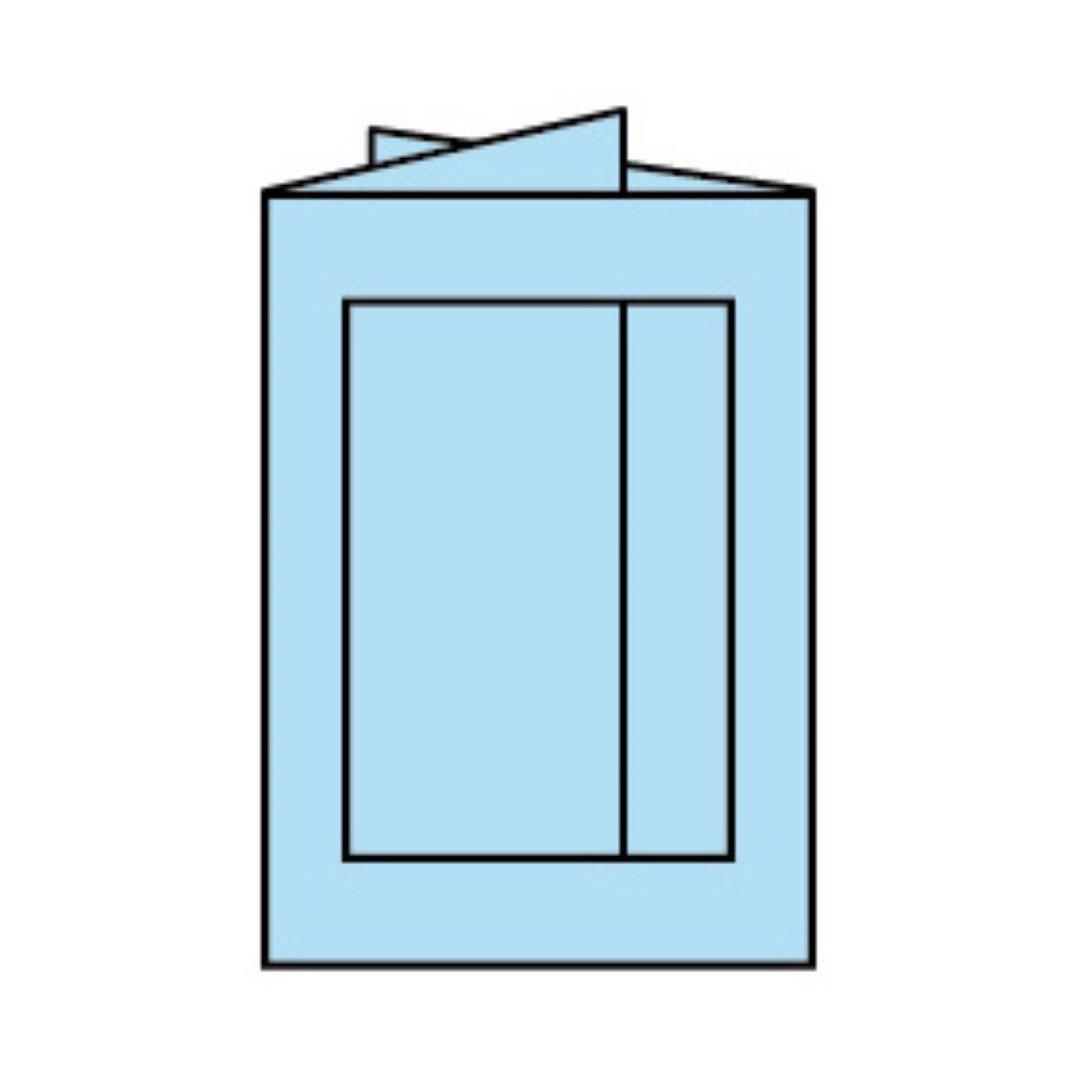 Rössler Papier - - Paperado-Karte Ft.B6 PP-eckig, Aqua - Liefermenge  25 Stück B07CX4P2BY | Feinbearbeitung