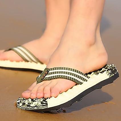76dd7efc919 Xing Lin Sandalias De Hombre Nuevo Verano Flip-Flops Hombre De Chanclas De Playa  Playa