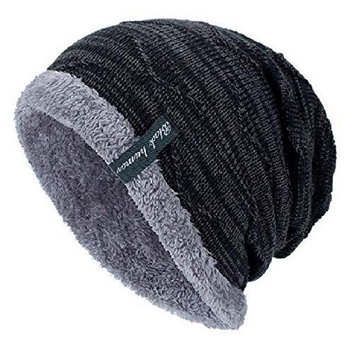 YSense Mens Winter Warm Slouchy Beanie Oversized Baggy Hat Fleece Lined Knit Skull Cap
