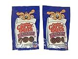 Canine Carry Outs Burger Minis Dog Treats Bundle Set of 2 (5 oz Each) For Sale