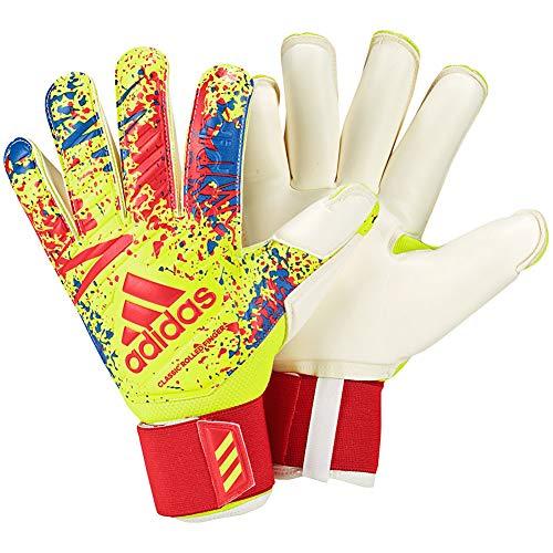 (adidas Classic PRO Gun Cut Retro Inspired Goalkeeper Gloves for Soccer Retro Goalkeeping)