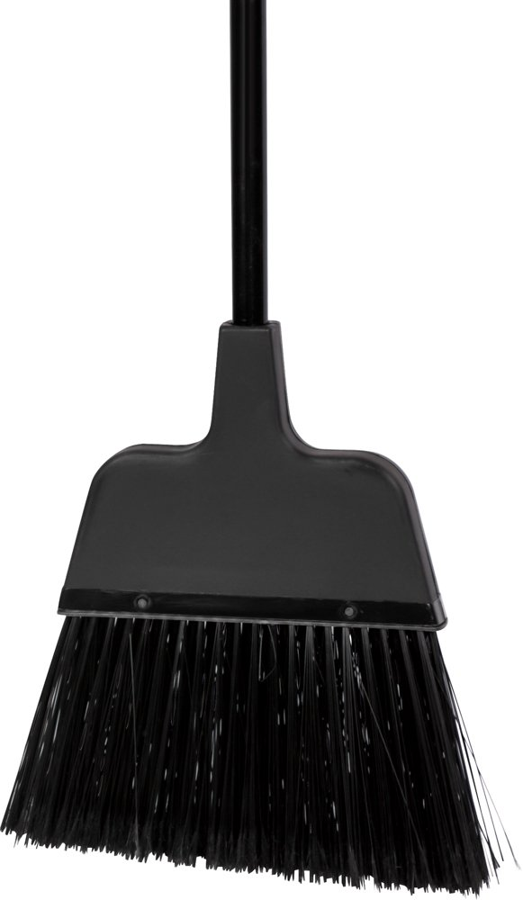 American Market Easy Angle Broom With Alloy Handle, 11'' Wide Head