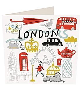 Carte Anniversaire Londres.Cartes D Anniversaire Londres Par Caroline Gardner You001